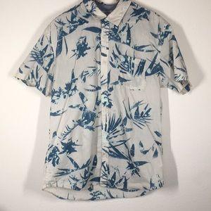 Quicksilver men's Hawaiian button down shirt